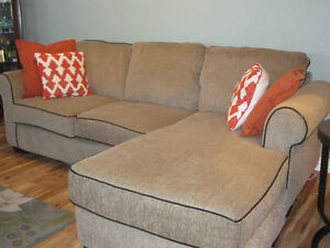 Sectional Chesterfield and Chair