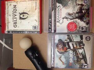 PS3 Game and Move Control Cambridge Kitchener Area image 1