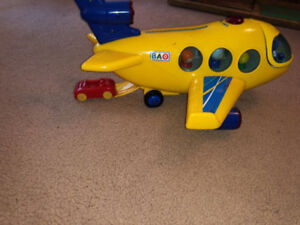 Toy Truck, Trains and Plane