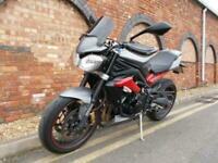 2016 Triumph STREET TRIPLE 675 R ABS Manual