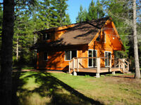 Pine Beetle Log Cabin Package Shipped FREE In BC & Alberta