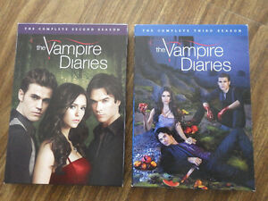 DVD The Vampire Diaries – Second et Third season
