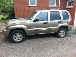 MUST SELL 2003 JEEP LIBERTY- MAKE AN OFFER- ASKING $1000