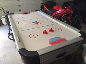 Sport Craft air hockey table.