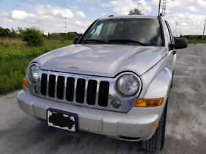 2007 Jeep Liberty Sport Limited, GOOD CONDITION, 4dr, Silver