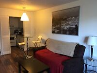 Furnished apartment 2 1/2 for short term rent, downtown Montreal