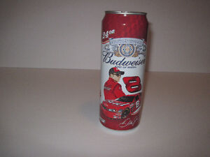 Nascar's Dale Earnhardt Jr. Collectable Budweiser Can