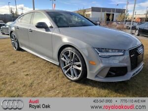 2017 Audi RS 7 4.0T Performance quattro 8sp Tiptronic