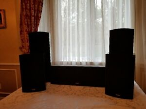 Paradigm Surround Sound Speakers, Sub and Amp