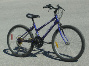 "FEMALE'S YOUTH SIZE 24"" TRIUMPH DASER 15 SPEED MTB ONLY $75.00!"
