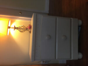 Dresser and matching night table for sale