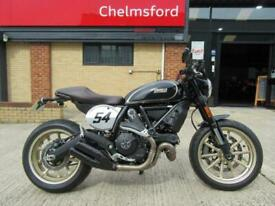 Ducati Scrambler 800 Cafe' Racer 2018 Model - ONLY 349 MILES FROM NEW!!