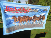 Budweiser Clydesdales at the Beach - Beachtowel