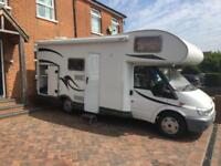 Chausson Flash 03, Sleeps 6 With 6 Seat Belts, Bunk Beds, Large Garage,