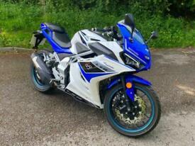 Lexmoto LXR 125 E5 70 Reg Manual motorbike 125cc Learner CBT Legal Blue White