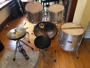 4 piece drum set
