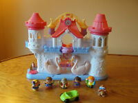 Fisher price Precious places Swan palace / princess castle WOW!!
