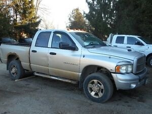 PARTING out 2003 Dodge Ram 2500 DIESEL and OTHER TRUCKS