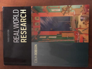 Livre Real World Research