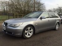 Bmw 525 fully loaded panoramic+xenon+satnav 1year mot