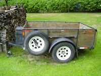 2 TON COMMERCIAL UTILITY TRAILER
