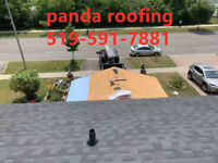 Panda Roofing-Roof/Eavestrough Replace-Please Call:519-591-7881