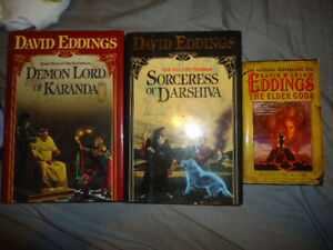 DAVID EDDINGS BOOKS