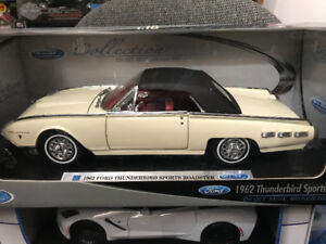 Ford thunderbird 1962 convertible diecast 1/18 Die cast