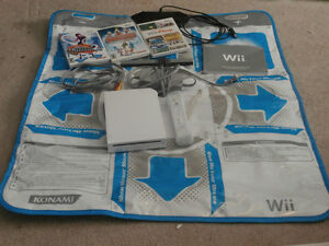 Nintendo Wii, controller, dance pad, DDR games