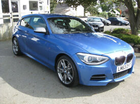 2013/63 BMW 1 Series 3.0 M135i M Sports 3 door with Full BMW History