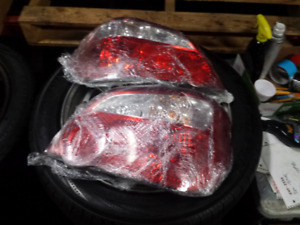 Subaru Impreza Sti Sedan Oem Tail Lights Lamps 2004-2007