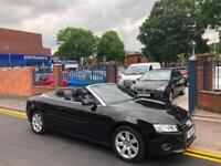 2011 Audi A5 1.8 TFSI (160BHP) SE BLACK CONVERTIBLE!