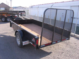 utility and dump trailers for rent