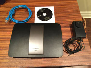 Linksys AC1750 4-Port Gigabit Wireless AC Router (EA6500v2)