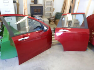 4 DOORS,HOOD AND TRUNK FOR A 2009 FOCUS