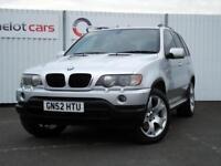 2002 (52) BMW X5 3.0 D SPORT DIESEL AUTOMATIC, 12 MONTHS MOT, ** GOOD HISTORY **