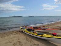 Kayak de mer Necky Chatham 17 FIBRE & KEVLAR & 550$ d'équipement