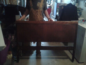 Antique Bed Frame for a Double Bed