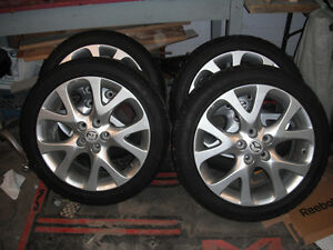 2012 MAZDA 6 RIMS AND 235/45/18 TOYA TIRES $450 OBO