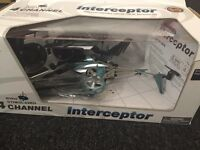 Remote control helicoptor