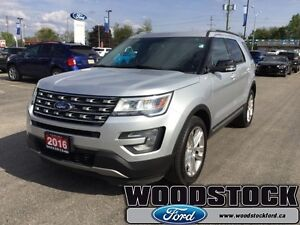 2016 Ford Explorer XLT - 4WD   - Bluetooth -  Remote Start - Low