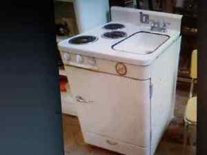 WANTED gas stove fridge sink combo