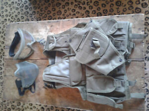 air soft vests (great for new player)+ gear all for $200 obo