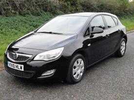 2010 VAUXHALL ASTRA EXCLUSIV 1.7 CDTi 5 DOOR, Black, Manual, Diesel