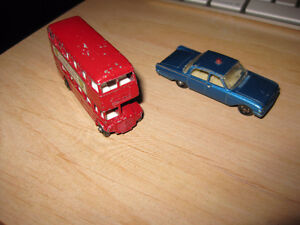 Lesney MAde in England toy car and double decker bus Matchbox Peterborough Peterborough Area image 1