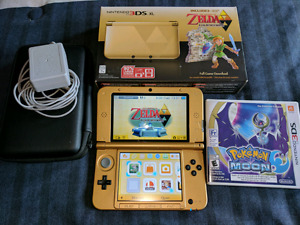 3DS XL Zelda limited edition + games