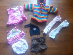 Size 3-12m Clothing lot - One boys lot, one girls lot!