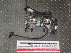 2013 kawasaki ex 650 r ninja throttle bodies with injectors