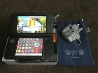 Nintendo NEW 3DS XL, as new condition with extras