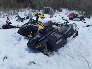 Ski Doo S, F, and ZX Chassis Parts